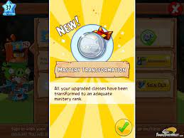 Angry Birds Epic v110 Classes Mastery Transformation