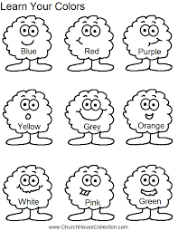 Small Picture Free Printables For Teaching Colors Colors Coloring Pages For