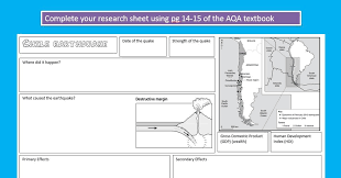KS3 Geography: Plate Tectonics, Volcanoes and Earthquakes by ...