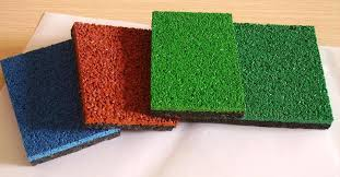epdm colorful display rubber flooring for running track rubber flooring for play areas spray