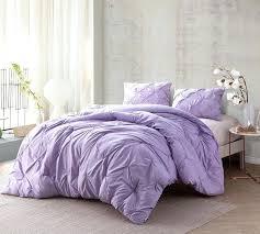 lavender comforter orchid petal pin tuck king oversized bedding lavender comforter