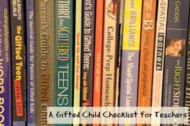 A Gifted Child Checklist For Teachers Crushing Tall Poppies