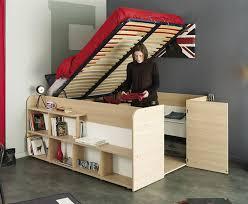 storage bed up
