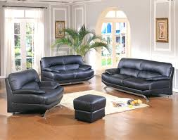 Living Room  Black Leather Living Room Furniture  Cool - Leather livingroom