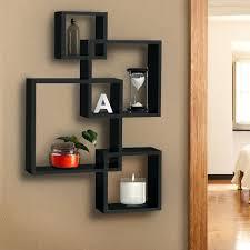 brown decorative wall shelves black cube floating shelf dark medium size of 6 shelving unit black cube shelf