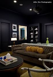 dark media room. Vintage Glam Rooms | Friday Room Reveal: Media By Laurie White Dark D