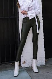 leggings hue faux leather leggings in shadow olive available at macys com