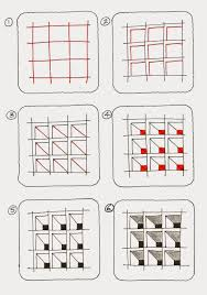 Zentangle Patterns Step By Step Unique Decoration