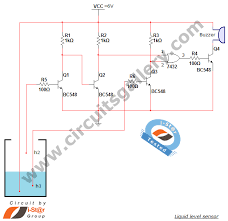 water level sensor circuit projects for school students circuit diagram of liquid level sensor
