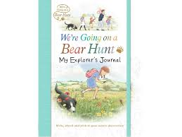 we re going on a bear hunt my explorer s journal 8 99 walker books