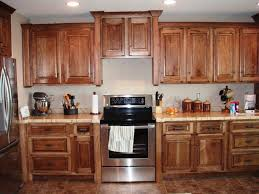 Knotty Hickory Kitchen Cabinets Kitchen Farmhouse Remodel Ideas - Cypress kitchen cabinets