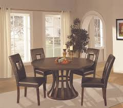 image of black 72 inch round dining table