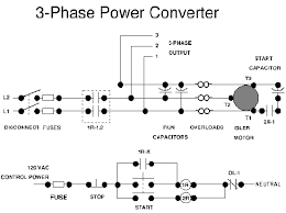 how to connect single phase amp three phase loads in a three phase Wiring Diagram Single Phase To Phase 3 fig1 wire simple electric outomotive detail circuit 3 phase to single phase wiring diagram free sample single phase to 3 phase wiring diagram