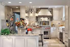 white kitchen cabinets with granite countertops. Santa Cecilia Light Granite Countertops White Cabinets Kitchen With