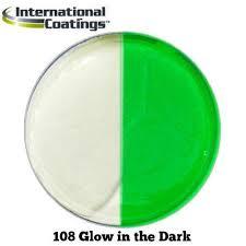 International Coatings Ink Color Chart International Coatings 108 Glow In The Dark Ink