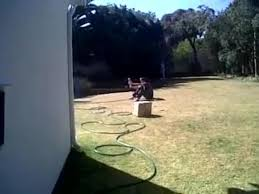guy gets a water bottle rocket in the face