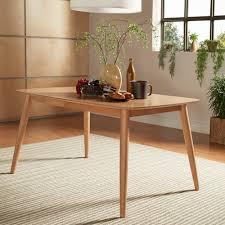 norwegian mid century danish modern tapered dining table inspire q modern on today overstock 12921504
