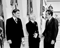 Admiral Rickover with President Nixon.