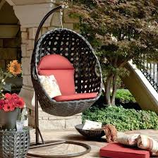 rattan hanging chair lovely outdoor wicker swing of picture patio basket stand person egg furniture seats living outdoor wicker egg shaped chair