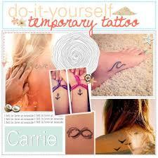 sharpie and hairspray tattoo