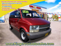 King Credit Auto Sales: 1995 Chevrolet Astro AWD, Denver Used Vans