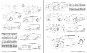 how to draw book drawing vehicles in perspective