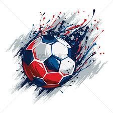 Soccer Graphic Design Soccer Ball Design Vector Image 1818068 Stockunlimited