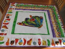 58 best Quilts - Very hungry caterpillar quilts images on ... & The Very Hungry Caterpillar Quilt Adamdwight.com