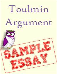 sample toulmin argument excelsior college owl