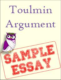 sample toulmin argument excelsior college owl