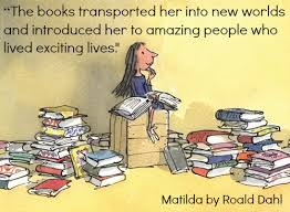 Quotes on Reading from Roald Dahl's Matilda | Books Bird