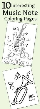 Top 10 Free Printable Music Notes Coloring Pages Online Music