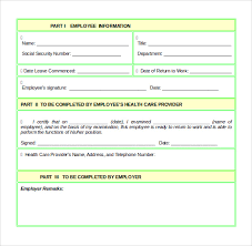 Additionally, going through return to work forms help: Free 16 Return To Work Medical Form Templates In Pdf Ms Word