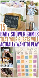 15 Hilariously Fun Baby Shower Games   Party Animal   Pinterest ...
