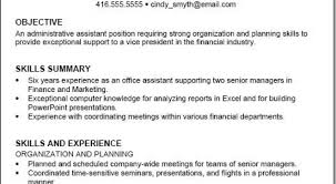 Job Interview Site Resume Skills List Sample Examples Archives