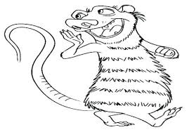 Sweet Squirrel Coloring Pages Disney For Adults Online Mandala