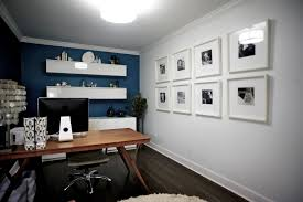 blue home office. Blue Home Office. Image By: Gaile Guevara Office I