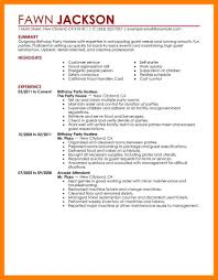 8 Hostess Resume Skills Mla Cover Page