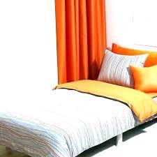 orange and grey comforter gray sets bedding modern stripe blue