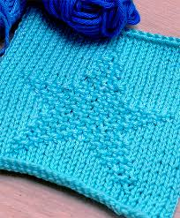 Star Knitting Pattern