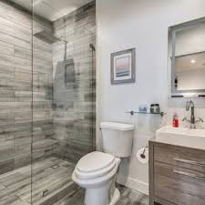 bathroom remodel small. Inspiration For A Small Contemporary 3/4 Gray Tile Ceramic Floor And  Bathroom Remodel F