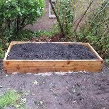 4 x4 cedar raised garden bed kit