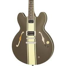 my other guitar fender tom delonge strat i really want to switch epiphone tom delonge signature es 333 semi hollow electric guitar brown stripe