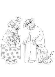 Thema Kleurplaten Oma