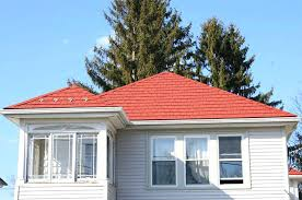 can you paint roof shingles steel shingles steel shingles roof painting roof tiles paint roof tiles grey