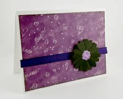 purple note cards purple note cards set of 6 blank notecards purple lover card