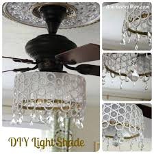 ceiling fan chandelier light kit. crystal chandelier light kit for ceiling fan cool made from sliced pipe pieces crystals n
