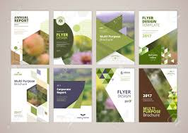 Natural And Organic Products Brochure Cover Design And Flyer