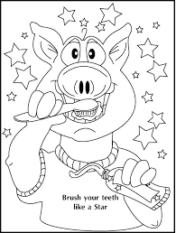 teeth coloring sheets tooth brushing pages dental printable for preschoolers