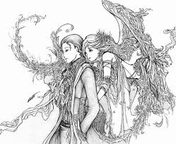 Small Picture 157 best Angel Coloring pages images on Pinterest Coloring books